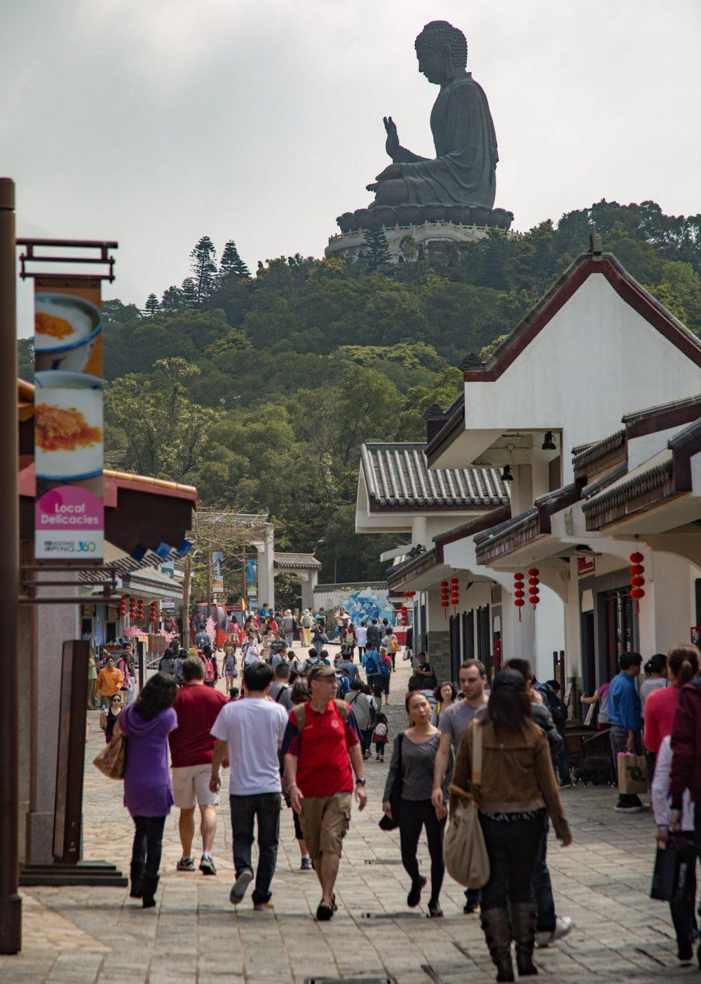 Big Buddha op Lantau Island