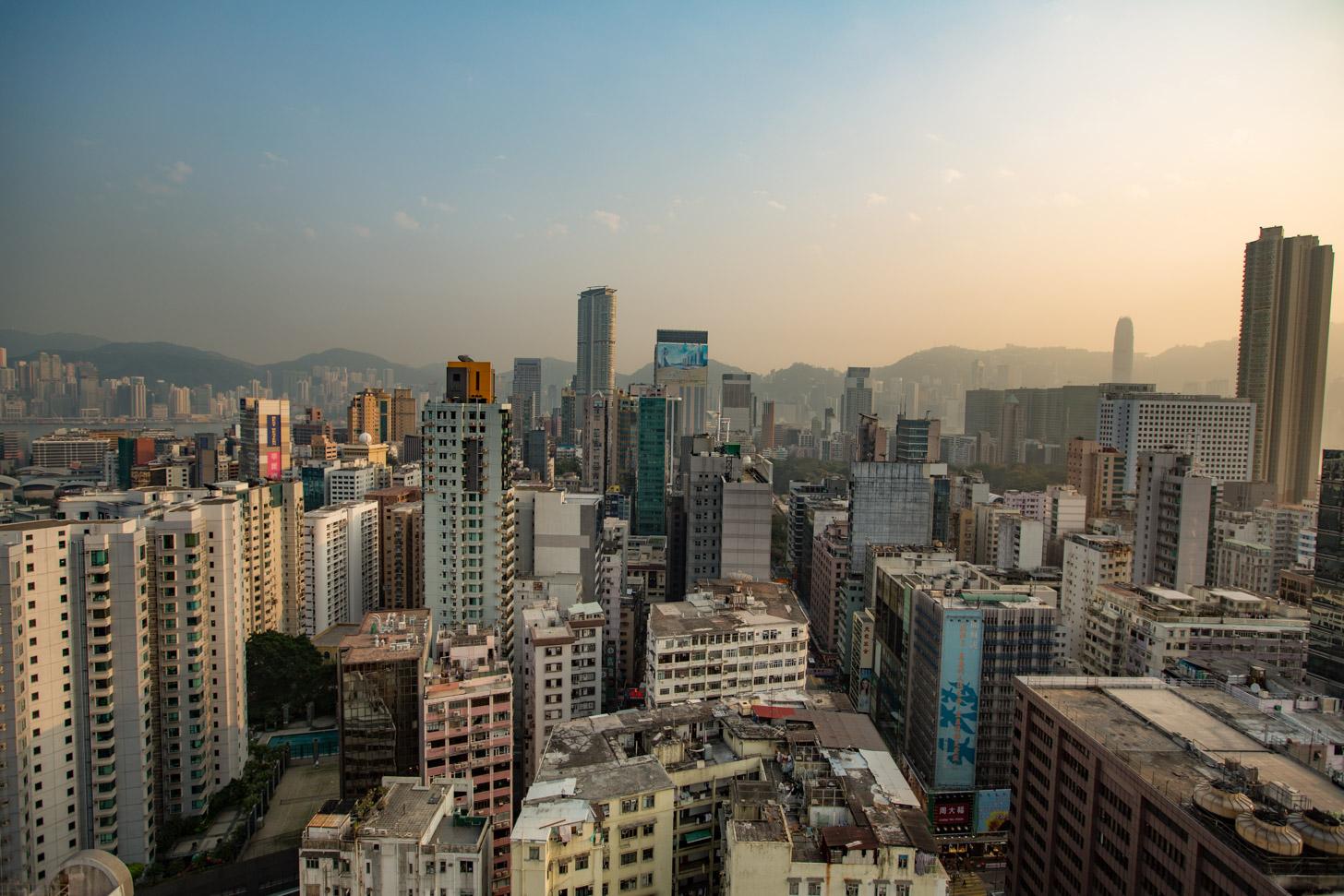 Het hedendaagse Hong Kong