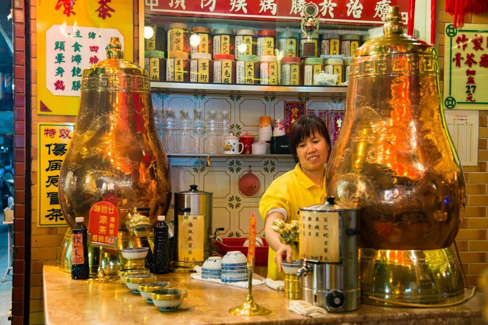 Aparte thee in Hong Kong