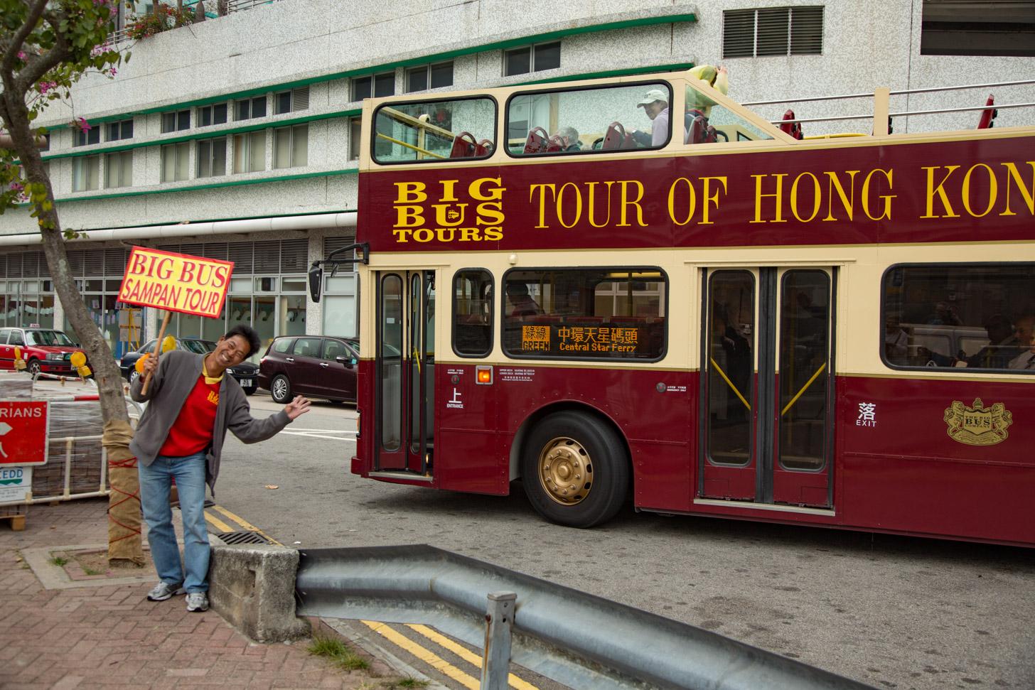 De Big Bus toeristenbus