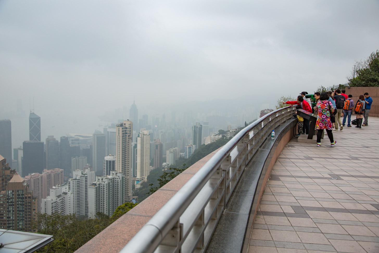 Bewolking kan het uitzicht flink verpesten