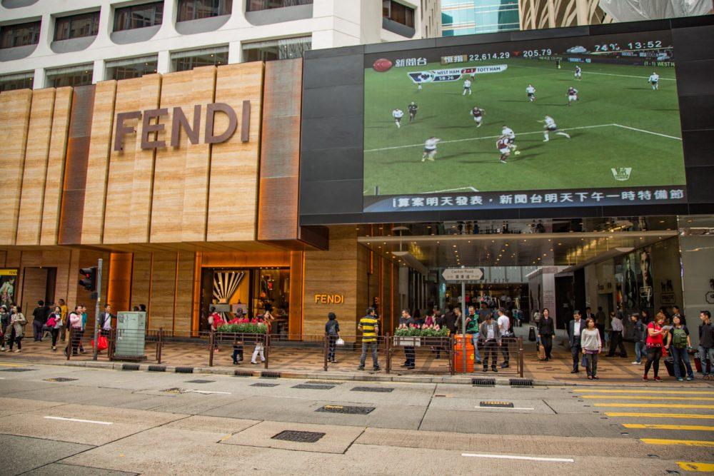 Winkelcentra in Hong Kong